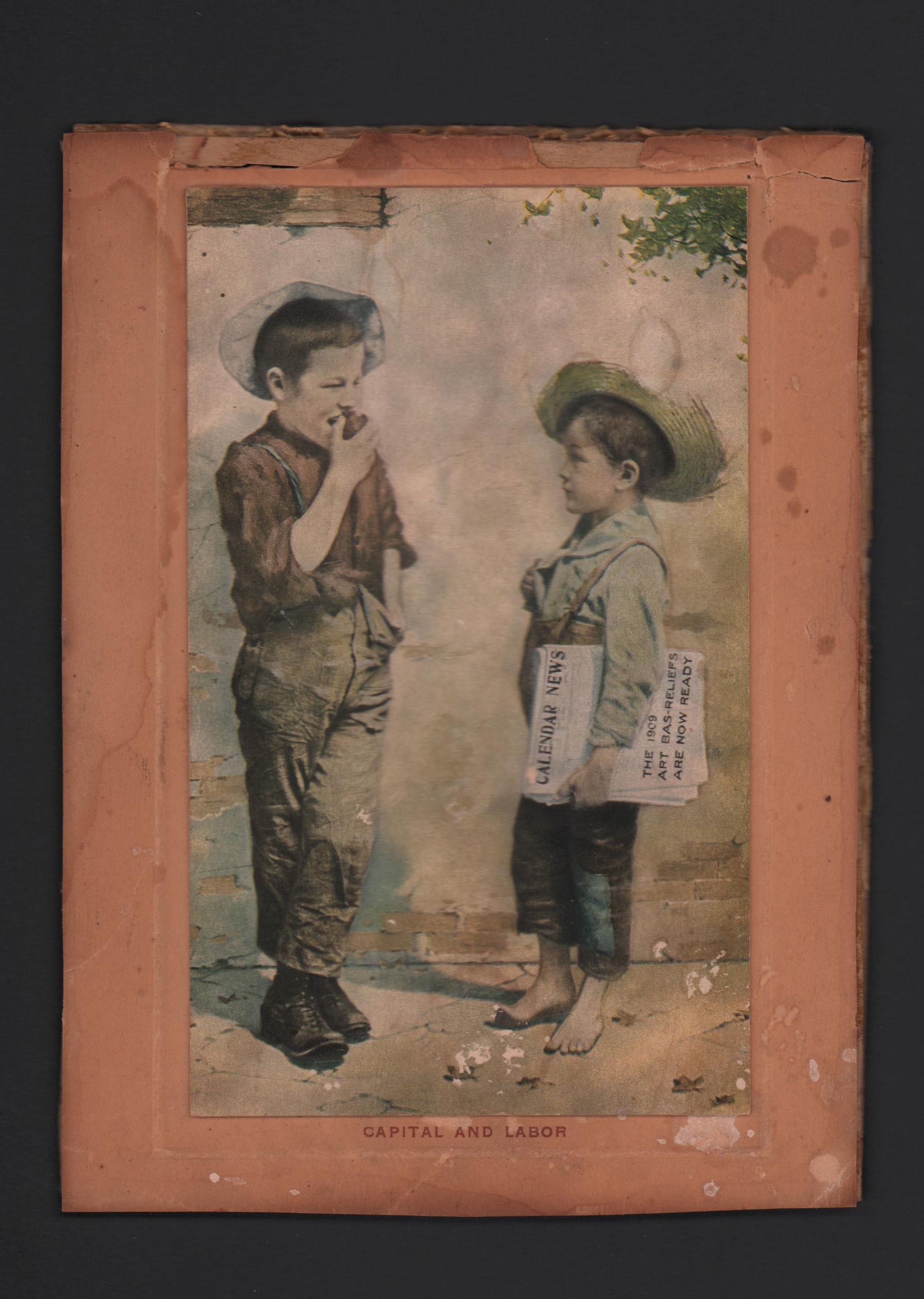 Capital and labor sawyeresque boys