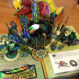 Wizard of Oz popup book