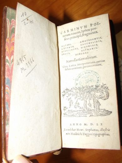 Carminum Poetarum